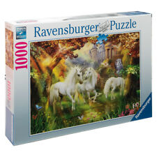 Ravensburger Rb15992-5 Unicorns in The Forest 1000pc Jigsaw Puzzle