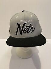 Brooklyn Nets NBA Snapback Adjustable Mens Hat Cap Mitchell & Ness