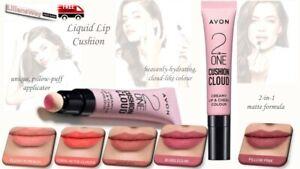 Avon 2 in 1 Liquid Lip Cushion~NEWLY LAUNCHED~Matte Finish~FREE Lipstick Sample!