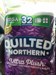 Quilted Northern Ultra Plush Toilet Paper, 8 mega rolls 8=32