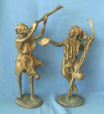 Skulptur Figur antikes Messing Kunstwerk Kunst Jugendstil Barock Art Deco Deko