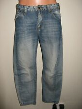 HARDLY WORN BOYS BLUE STONEWASHED SONNETI 3D KNEE JEANS AGE 13-14-15 28 WAIST