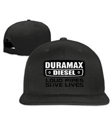 61badd9049d Cool Snapback Hat Duramax Quotes Plain Adjustable Cap Black