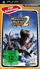 Monster Hunter: Freedom 2 Essential Edition PSP UMD PlayStation Video Game UK Re
