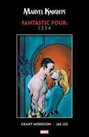 FANTASTIC FOUR 1 2 3 4 by Grant Morrison Jae Lee Marvel Knights TPB NEW