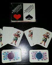 VINTAGE RUSSIAN SOVIET USSR PLAYING CARDS 1990 SOLITAIRE DOUBLE DECK 110 CARDS