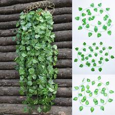 2M Artificial Ivy Leaf Garland Plant Vine Foliage Home Garden Hanging DIY Decor