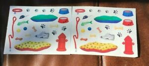 CREATIVE MEMORIES SCRAPBOOK STICKER SHEETS ~  PET SUPPLIES DOG BED TOYS