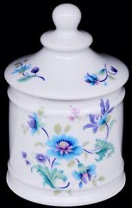 """Chamart Limoges France (LEC) LeClair Porcelain Apothecary Cotton Jar 5-1/2"""""""