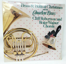 Canadian Brass & Bells at Christmas Vinyl Album Sealed Robertson Wagner Chorale