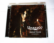 UnsraW 'Spiral Circle ~Complete~' Album-CD + DVD mit PVs & Live JRock/Visual Kei