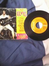 Elvis Presley Rock 45RPM Speed Music Records