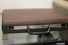 Samsonite Signat Briefcase Hardshell Laptop Case USA Vintage Attache No key