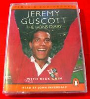 Jeremy Guscott The Lions Diary 2-Tape Audio John Inverdale Rugby Union/Sport
