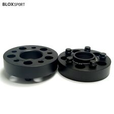 (2) 35mm BMW Wheel Spacers 5x120 Forged Aluminum Billet 6061-T6 High Strength