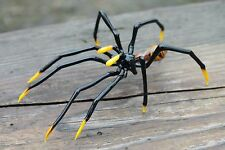 GLASS SPIDER Spider halloween, Art Glass Spider Figurine Insects,Glass Insects