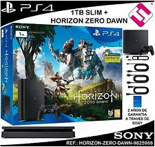 VIDEOCONSOLA SONY PS4 PLAYSTATION 4 1TB SLIM HORIZON ZERO DAWN OFERTA TOP VENTA