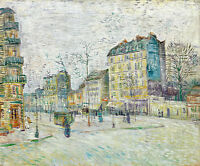 Boulevard de Clichy by Vincent van Gogh A2 High Quality Art Print