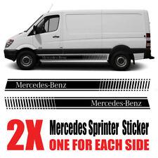 Mercedes Sprinter Graphics stripes Camper Van  SWB LWB Decals Stickers ms1