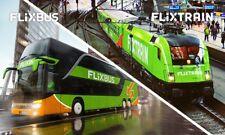 FlixBus Und Train eTicket Hin und zurück für 19,99 € Deutschland und Europa