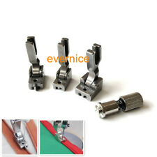 3 Invisible Zipper Foot S518 Narrow Wide For Juki Ddl-5550 227 Singer 191D 195K+