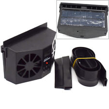 Solar Dual Fan Car Front/Rear Window Air Vent Black Car Solar Cooler Ice Summer