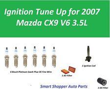 Tune Up For 2007 Mazda CX9 V6 Igntion Coil, Spark Plug, Oil Filter, Air Filter