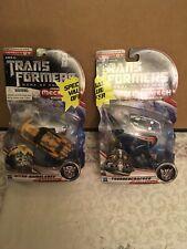 Transformers DOTM Mechtech Nitro Bumblebee and Thundercracker Decepticon