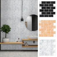 Peel And Stick Tile Kitchen Backsplash Mosaic Sticker Tile 3D Home Decor