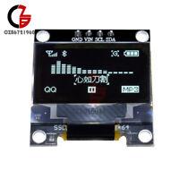 "White 0.96"" inch I2C IIC Serial 128x64 OLED LCD LED Display Module for Arduino"