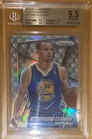 2014 Stephen Curry PANINI PRIZM SP PHOTO VARIATIONS SILVER REFRACTOR #12 BGS 9.5
