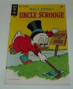 WALT DISNEY UNCLE SCROOGE #87 GOLD KEY COMICS 1970 The FLYING DUTCHMAN CARTOON