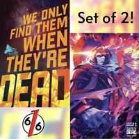 🚨💥 WE ONLY FIND THEM WHEN THEY'RE DEAD #1 SET OF 2 Cover A & Cover B Infante