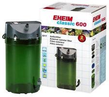 Eheim Classic 600 Plus Filtro de alimentación externa 2217 + Media Pez Tanque Acuario