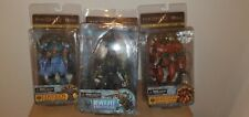 NECA PACIFIC RIM SERIES 1 ACTION FIGURE SET OF 3 CRIMSON TYPHOON KNIFEHEAD GIPSY