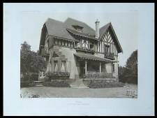 VILLA A LA CELLE SAINT CLOUD - 1913 - PLANCHE ARCHITECTURE - HERLOFSON,