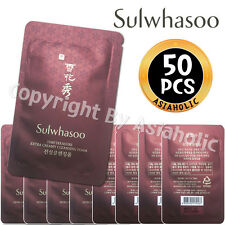 Sulwhasoo Timetreasure Extra Creamy Cleansing Foam 5ml x 50pcs (250ml) Newist