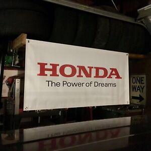 Honda Banner Mugen HKS Acura Fit EG EK EF S2000 Civic Integra RSX CRX Accord NSX