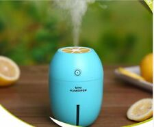 Lemon Air Humidifier Essential Oil Diffuser Aroma With Light - BLUE