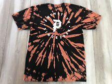 Primitive Shirt Medium Black Tie Dye P Logo Apparel Distressed Skater Mens