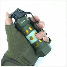 War Game Cosplay CS CF CQB Metal M84 M-84 Grenade Dummy Tactical Model Props Toy
