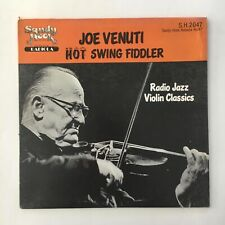 JOE VENUTI ~ HOT SWING FIDDLER ~ LP RECORD ~ RADIO JAZZ VIOLIN CLASSICS