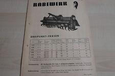144155) Rabewerk Dreipunkt-Fräsen Prospekt 08/1970