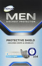 Tena Men Protective Shield Extra Light Pads Pack of 14