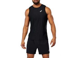 Asics Race Mens Running Vest - Black