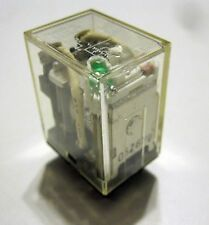 OMRON LY2N-D2 24VDC DPDT Relay With LED Indicator & Diode Surge Suppression