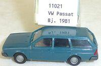 VW Passat Bleu Pigeon imu / Modèle Européen 11021 H0 1/87 Emballage #LL1 Å
