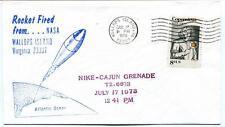 1973 Wallops Island ROCKET FIRED Nike Cajun Grenade T2.6673 WFF Goddard NASA