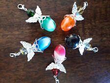 Set Of 5 Guardian Angel Charms Pendants Gift Necklace Bracelet