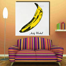 Vivid Banana kraft paper bar retro poster decorative painting wall sticker NTAU